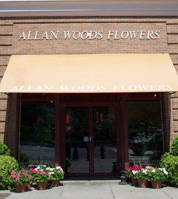 Florist Washington DC Allan Woods Storefront